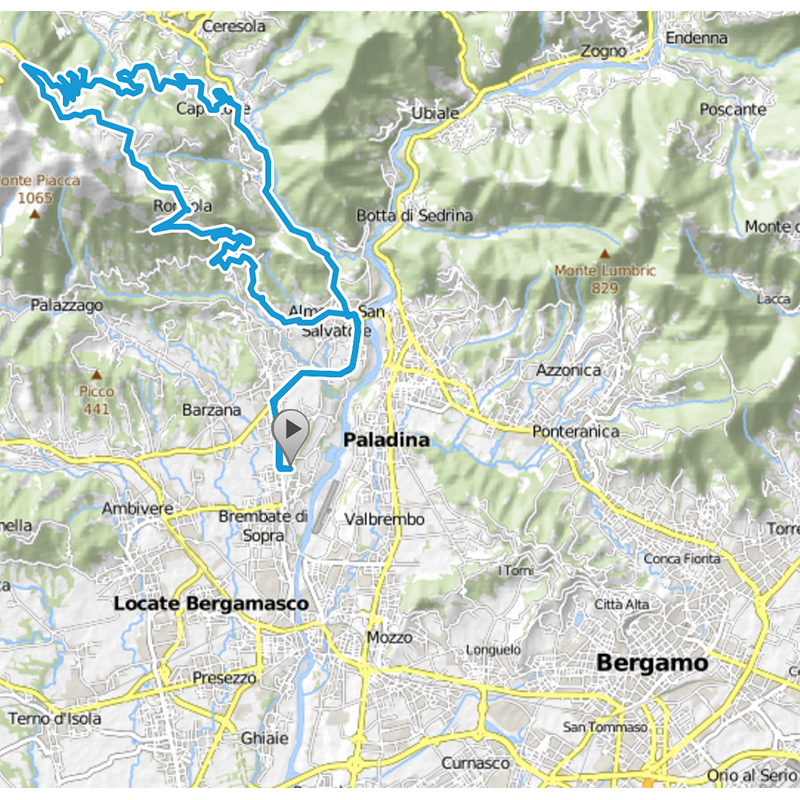 Milano Bike Renting | Bergamo Cycling Routes